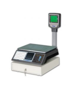 CS3MXC Digital Cash Register Scale with PLU Keys