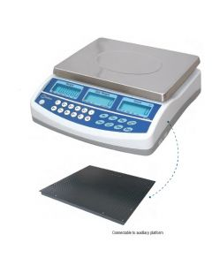 Baxtran BCD High Resolution Counting Scale with Remote Platform Counting System
