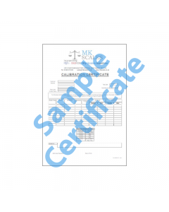 Calibration Certificate A