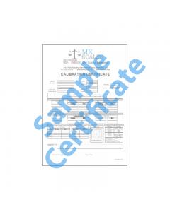 Calibration Certificate C
