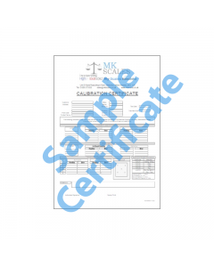 Calibration Certificate C